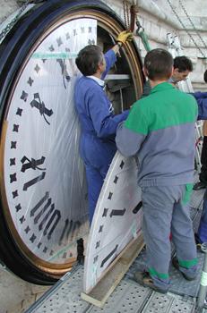 Savoir faire - Paschal horlogerie - Réparation d'un cadran