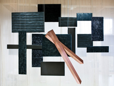 Horloge suspendue, murale ou cloison séparative : Composition